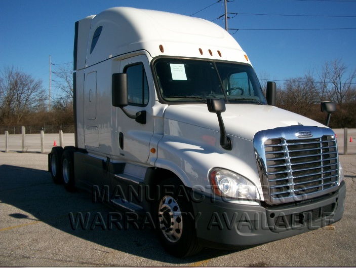 USED 2015 FREIGHTLINER CASCADIA DAYCAB TRUCK #138525