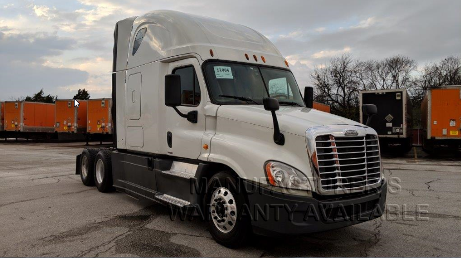 USED 2014 FREIGHTLINER CASCADIA SLEEPER TRUCK #138584