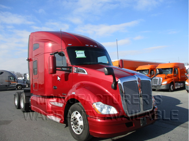 USED 2016 KENWORTH T680 DAYCAB TRUCK #84529