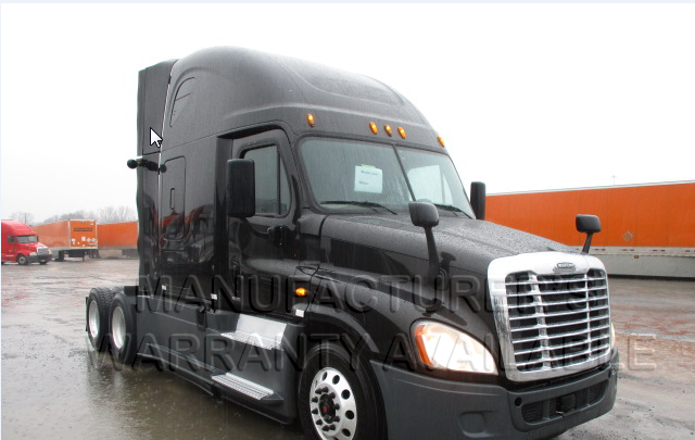 USED 2014 FREIGHTLINER CASCADIA SLEEPER TRUCK #85053