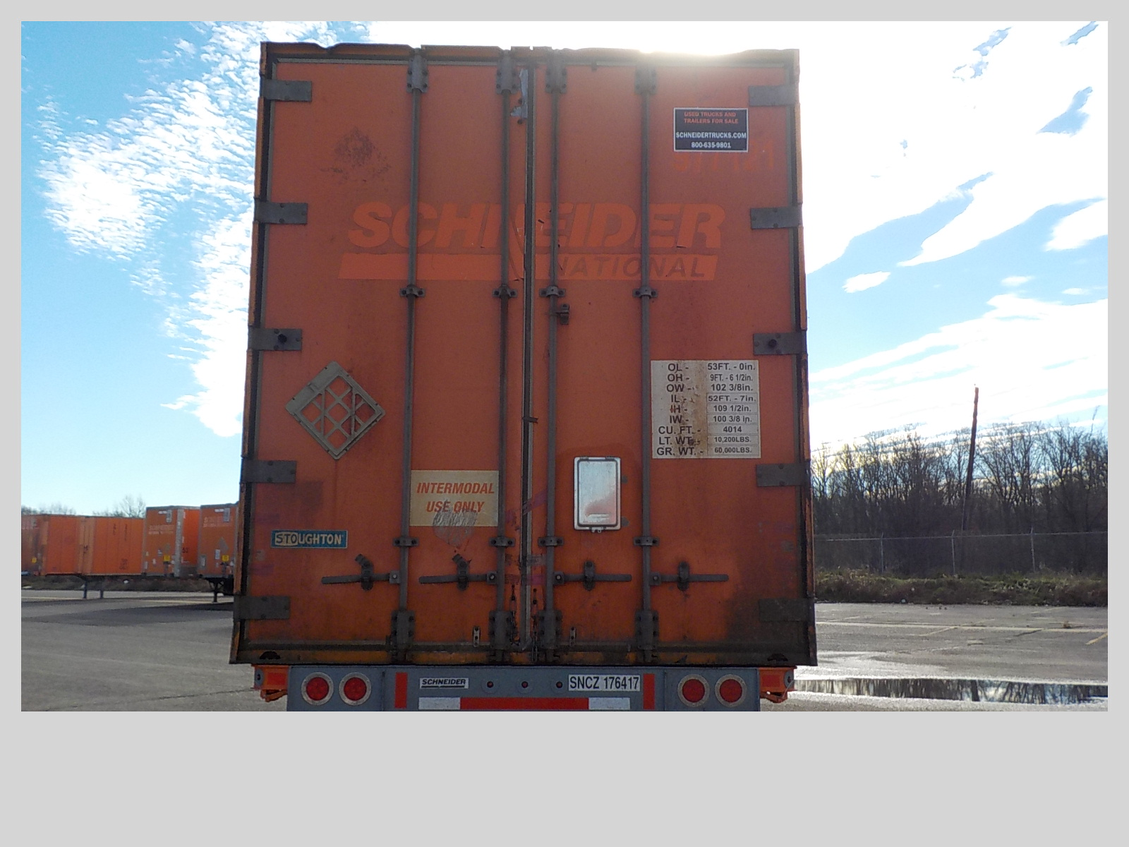 2006 Stoughton CONTAINER for sale-59110887
