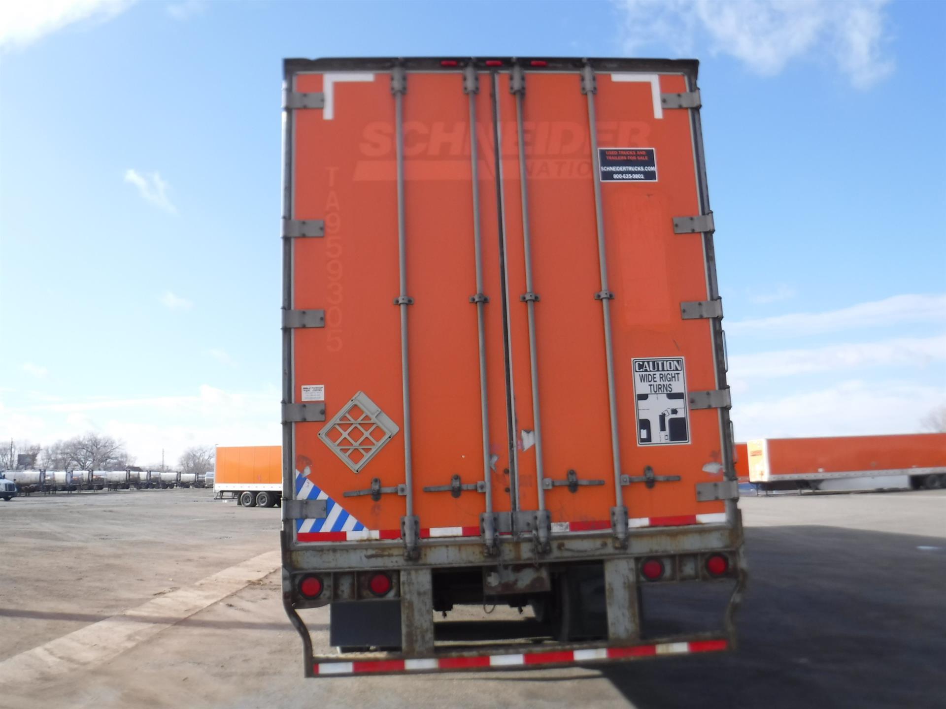 2005 Wabash Van for sale-59111009