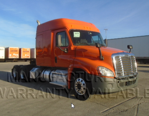 USED 2014 FREIGHTLINER CASCADIA SLEEPER TRUCK #139017