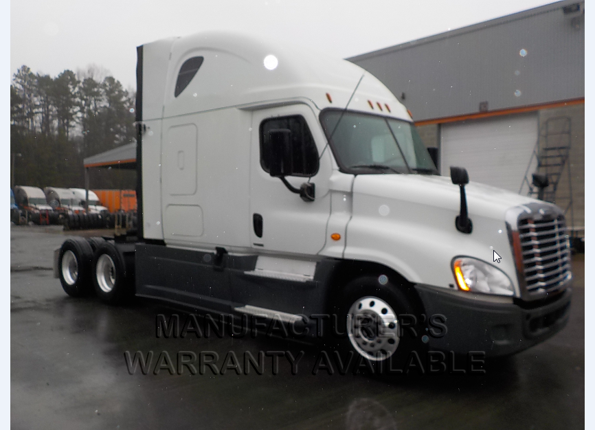 USED 2016 FREIGHTLINER CASCADIA SLEEPER TRUCK #139011
