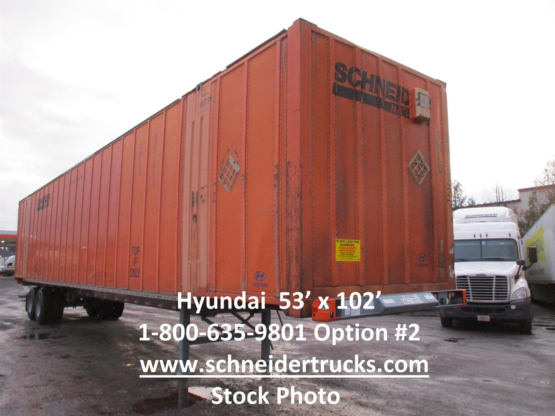2006 Hyundai Container for sale-59111085