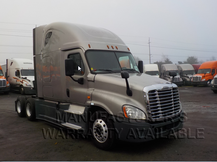 USED 2015 FREIGHTLINER CASCADIA DAYCAB TRUCK #84581