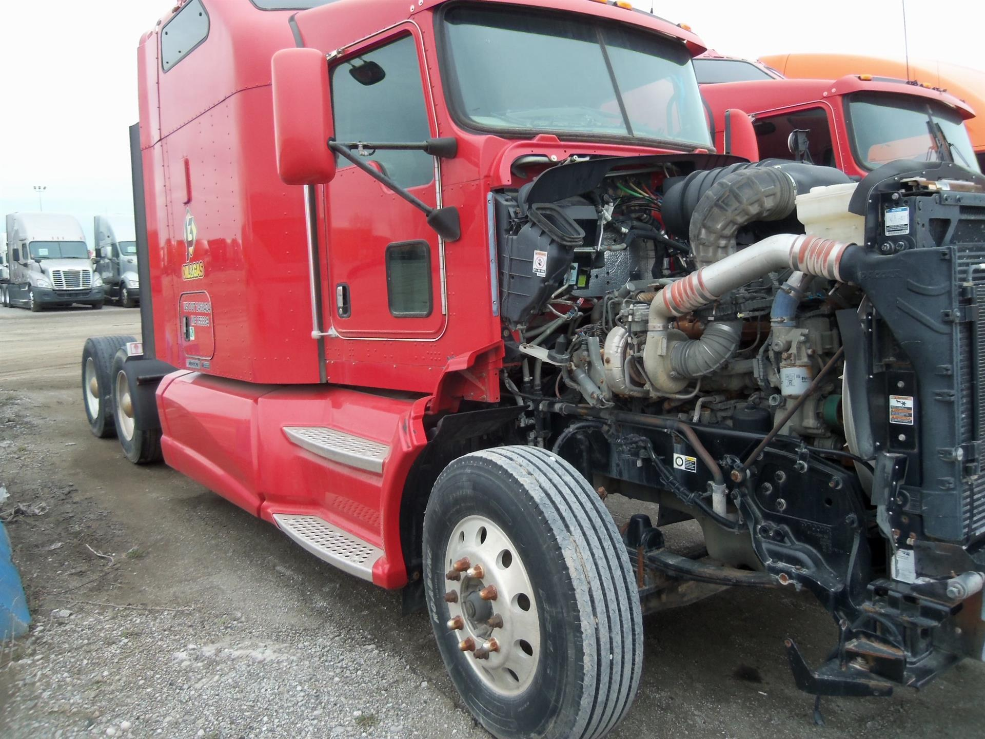 USED 2012 KENWORTH K220 DAYCAB TRUCK #84484