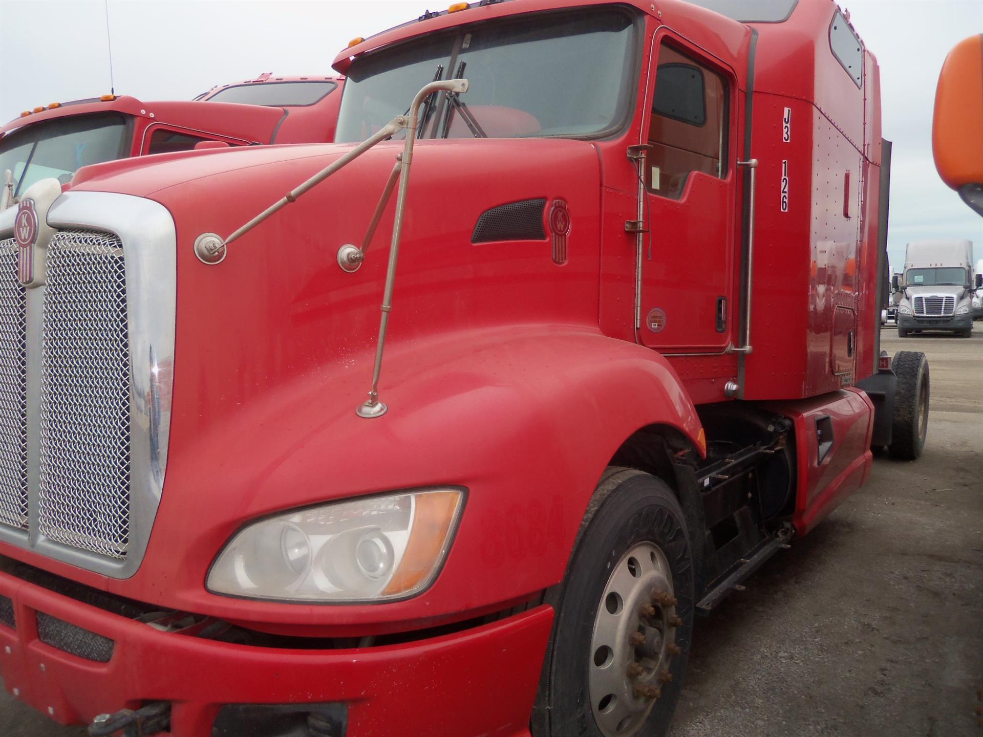 USED 2012 KENWORTH UNKNOWN DAYCAB TRUCK #84485