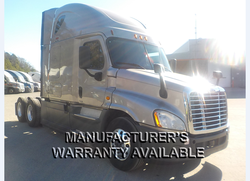 USED 2016 FREIGHTLINER CASCADIA SLEEPER TRUCK #139013
