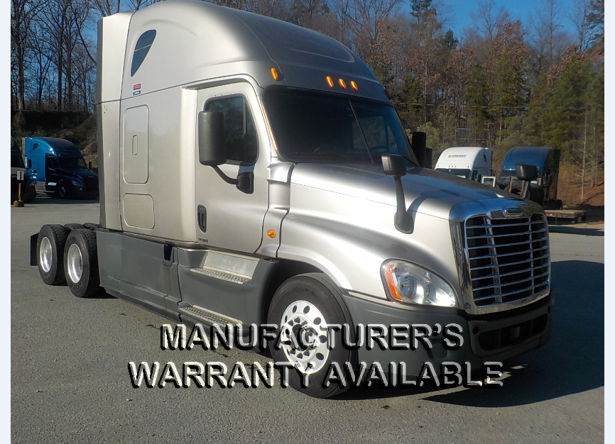 USED 2014 FREIGHTLINER CASCADIA SLEEPER TRUCK #139012
