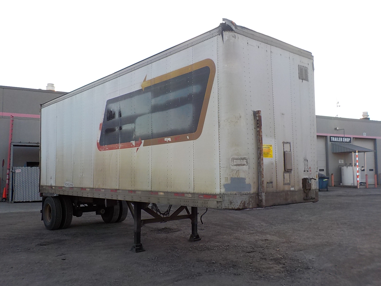 1988 Fruehauf Van for sale-59131948
