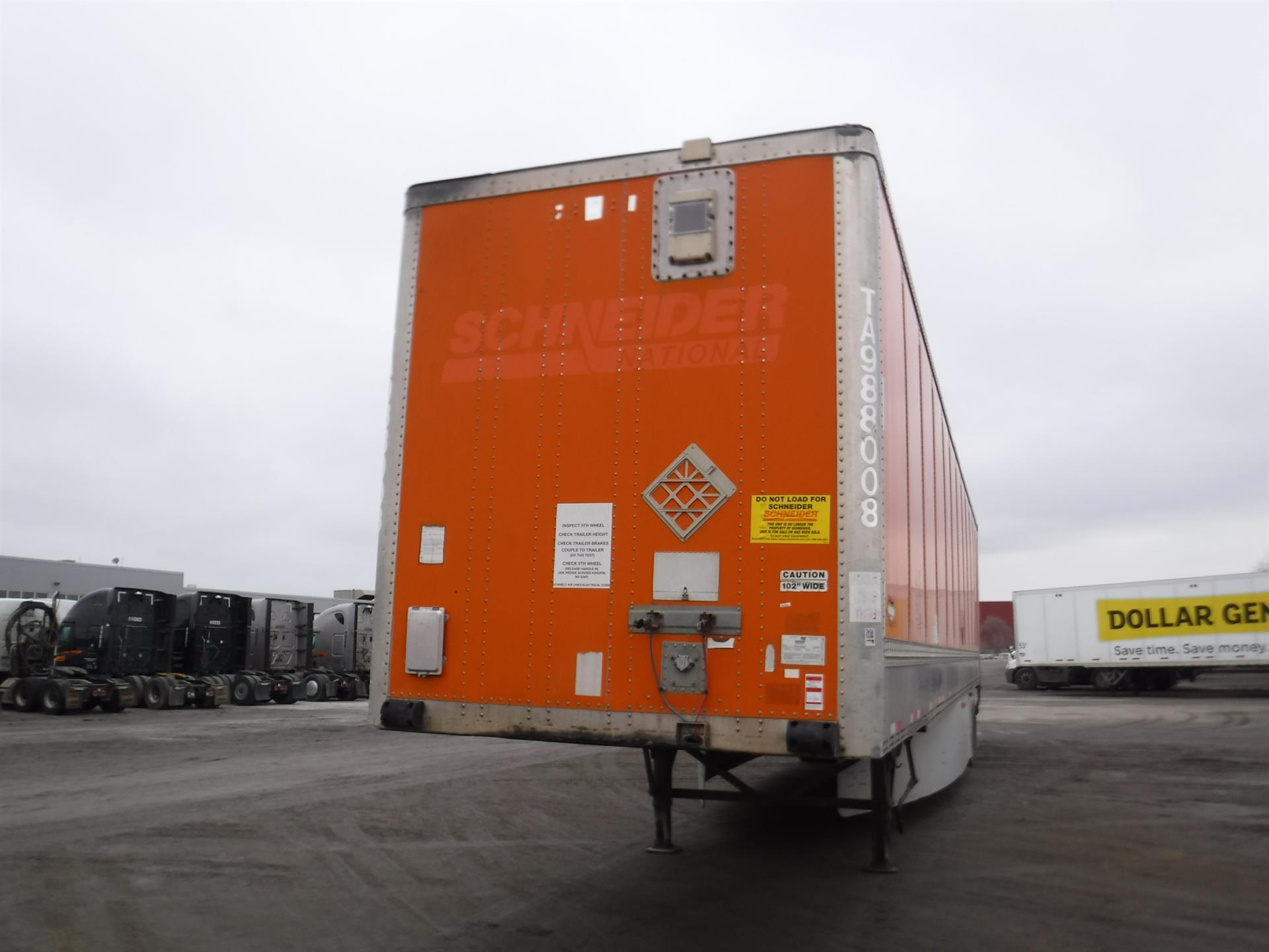 2007 Wabash Van for sale-59139908