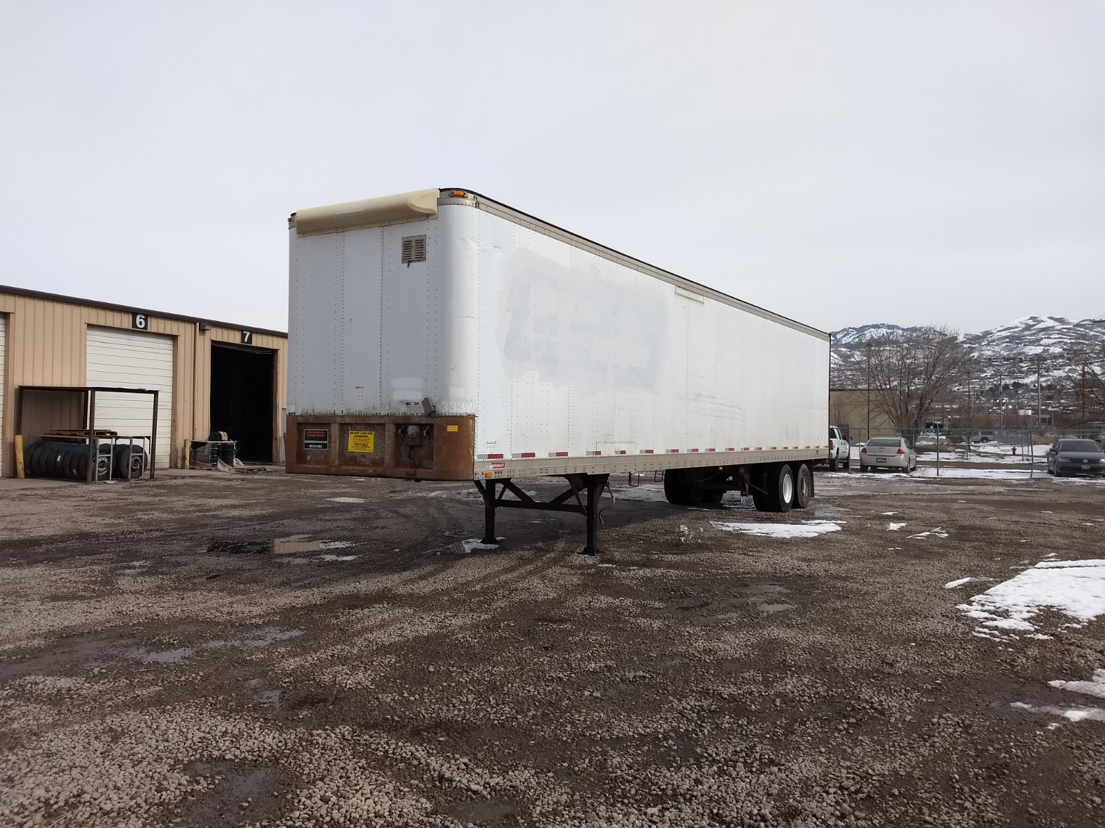 1988 Fruehauf VAN for sale-59275657