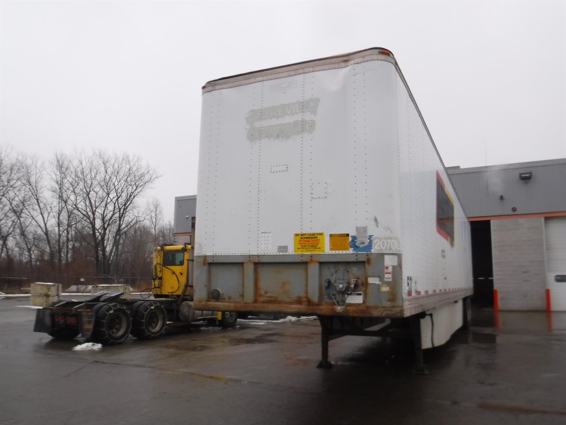 1991 Fruehauf VAN for sale-59275660