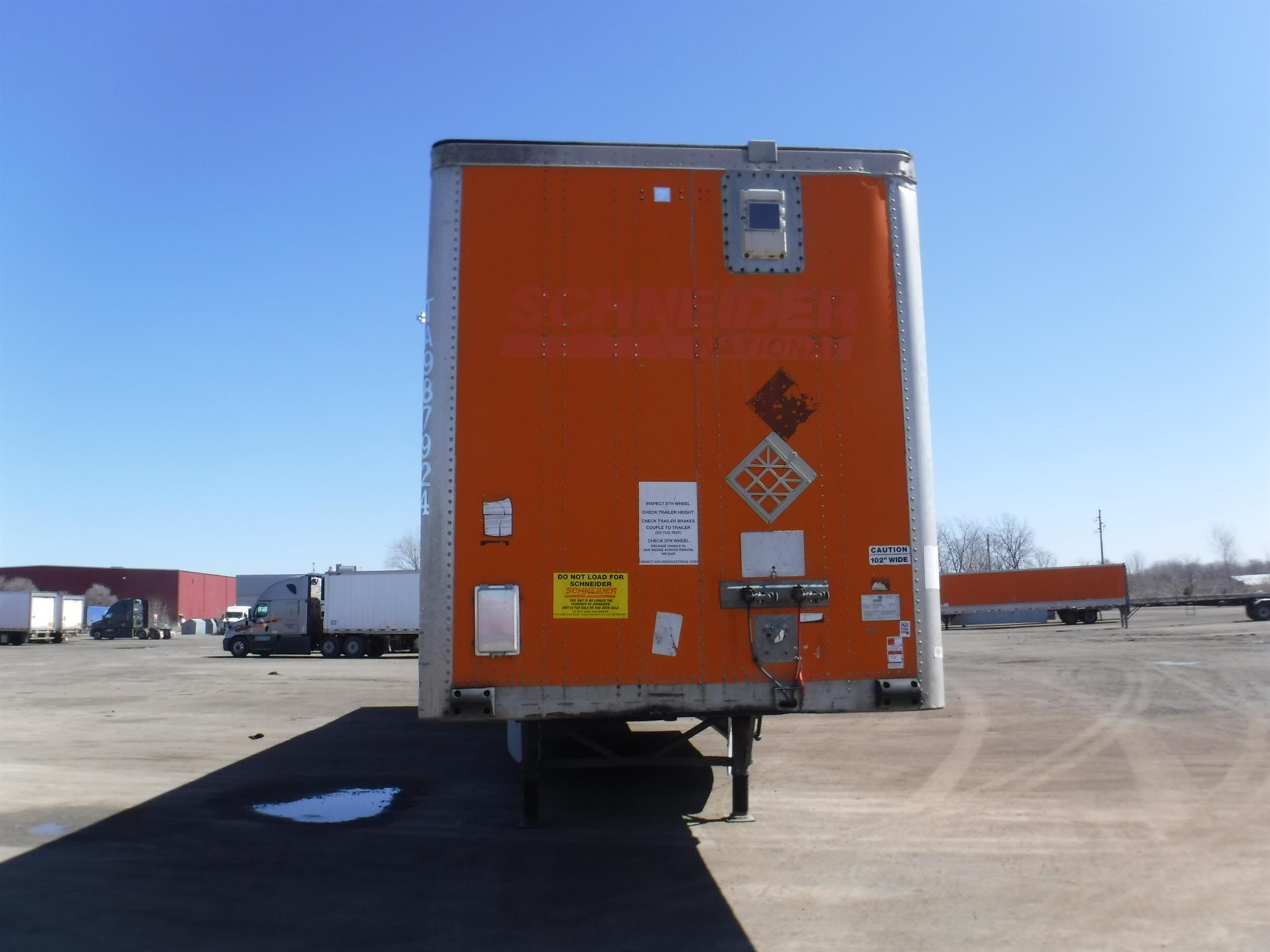 2007 Wabash Van for sale-59181447