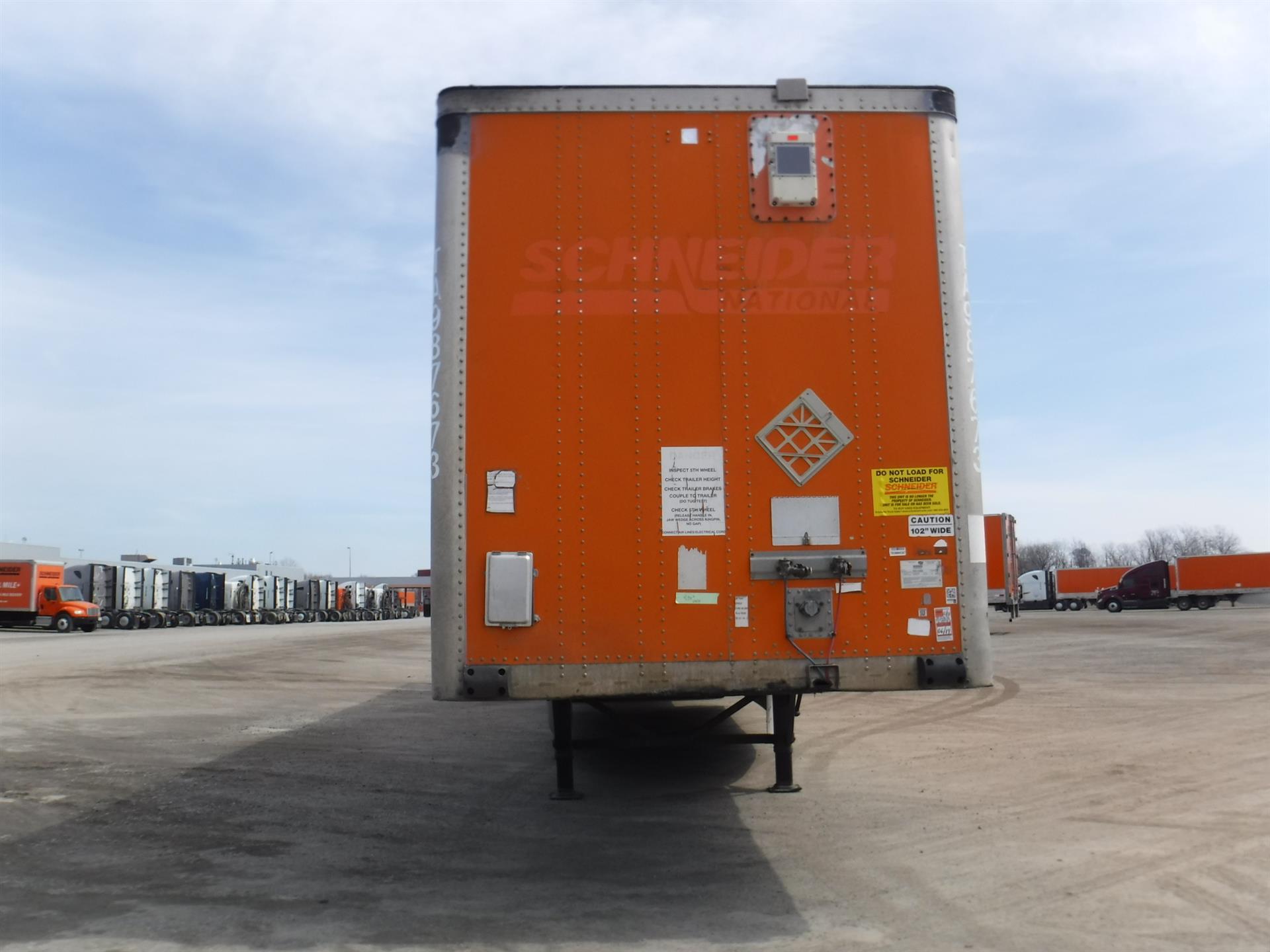 2007 Wabash Van for sale-59181684