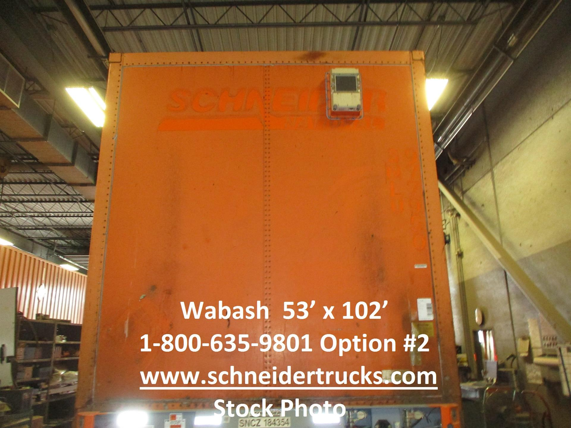 2005 Wabash CONTAINER for sale-59188668