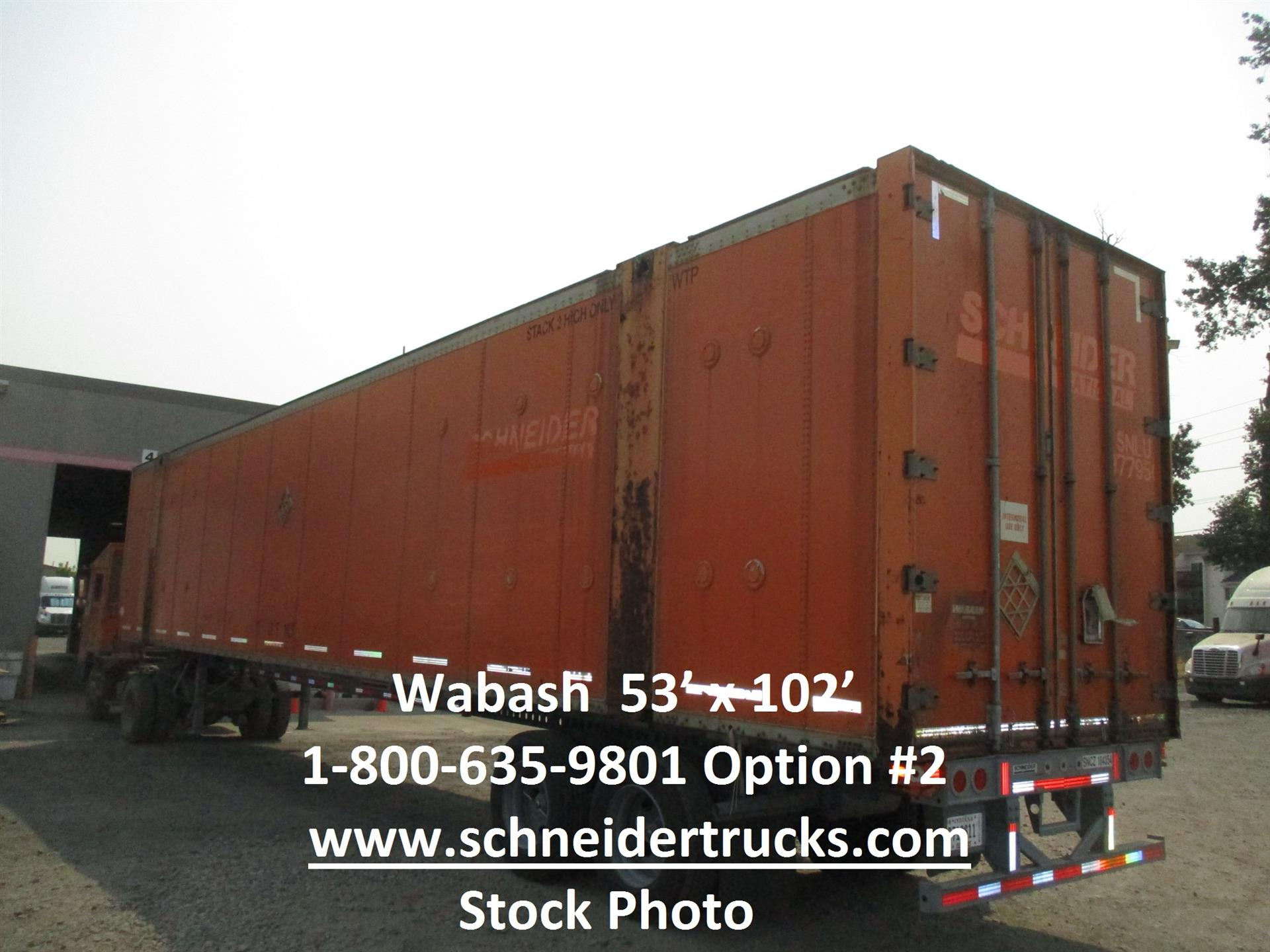2006 Wabash CONTAINER for sale-59189734