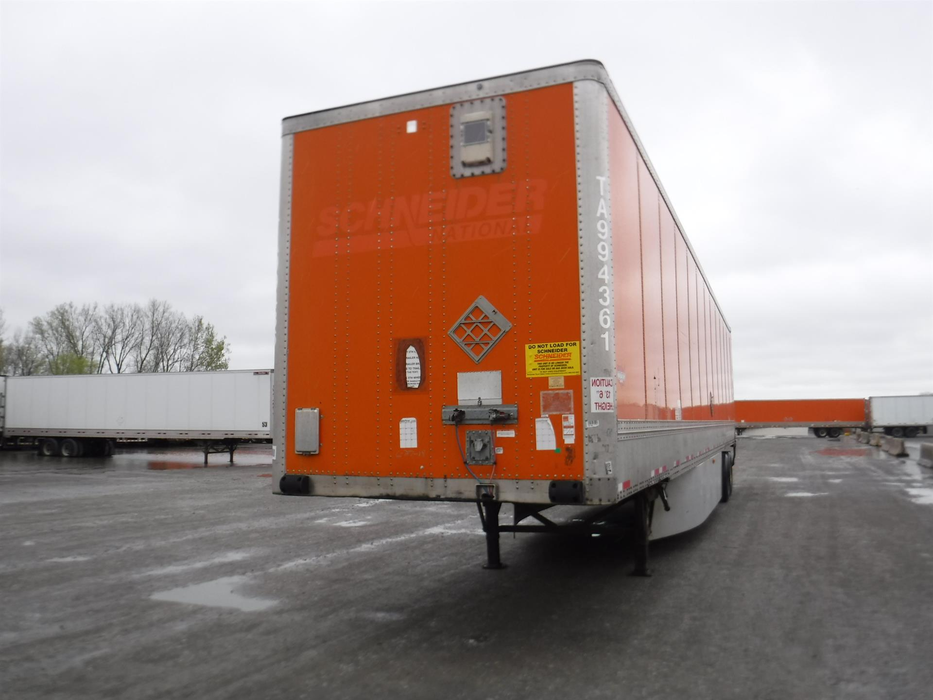 2009 Wabash Van for sale-59206430