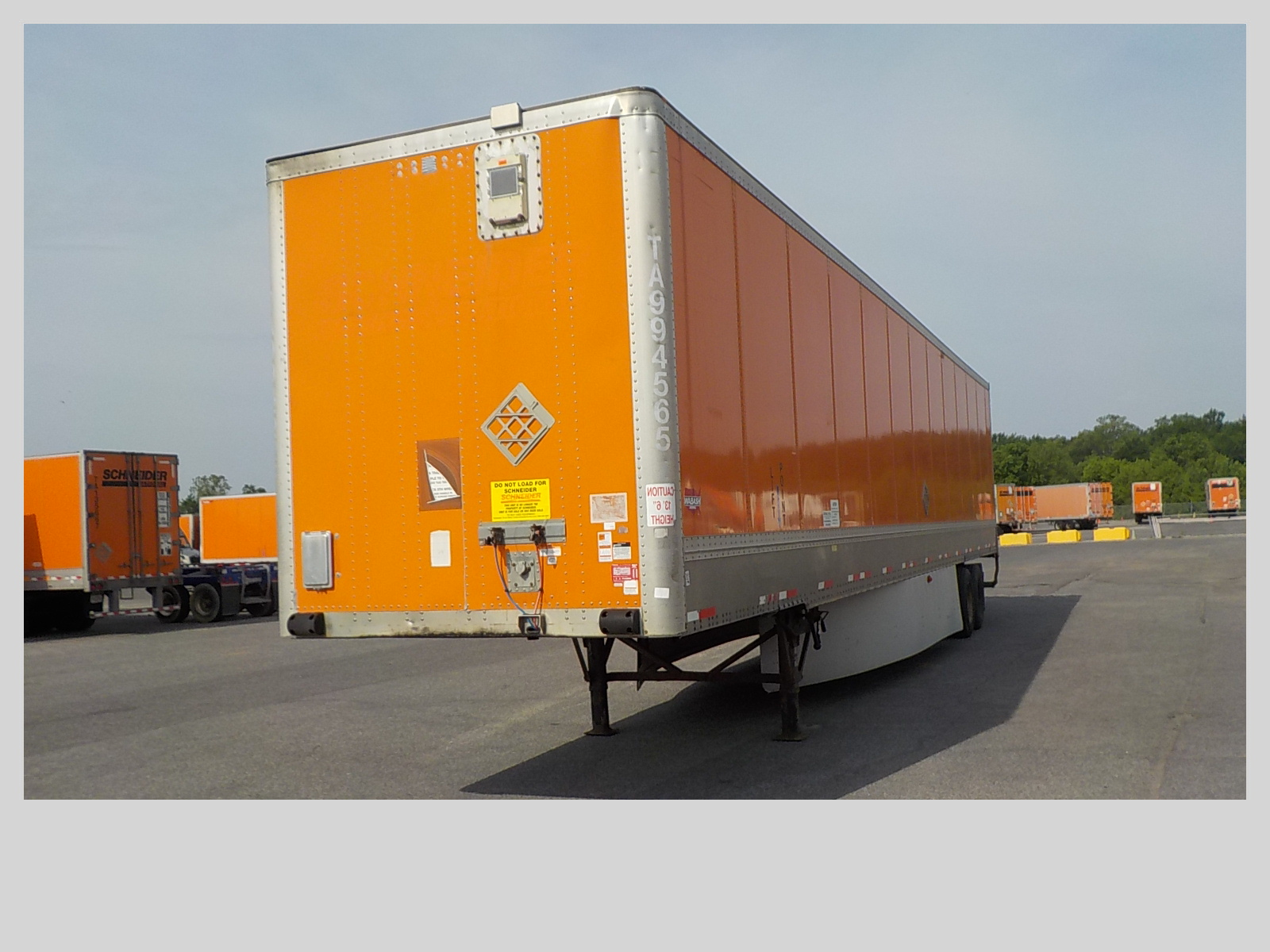 2009 Wabash Van for sale-59206443