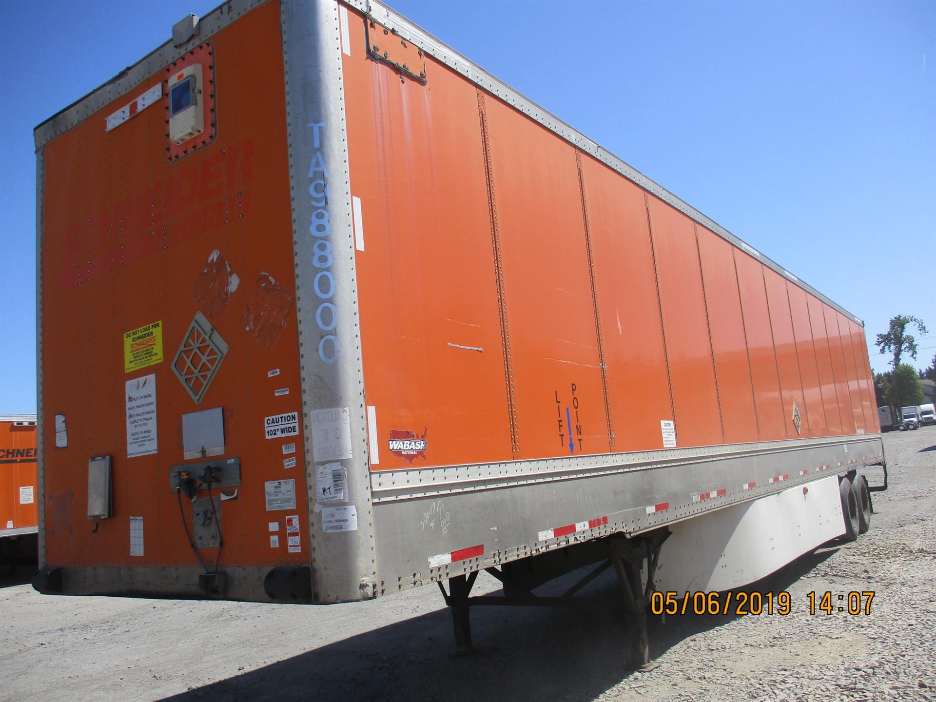 2007 Wabash VAN for sale-59265783