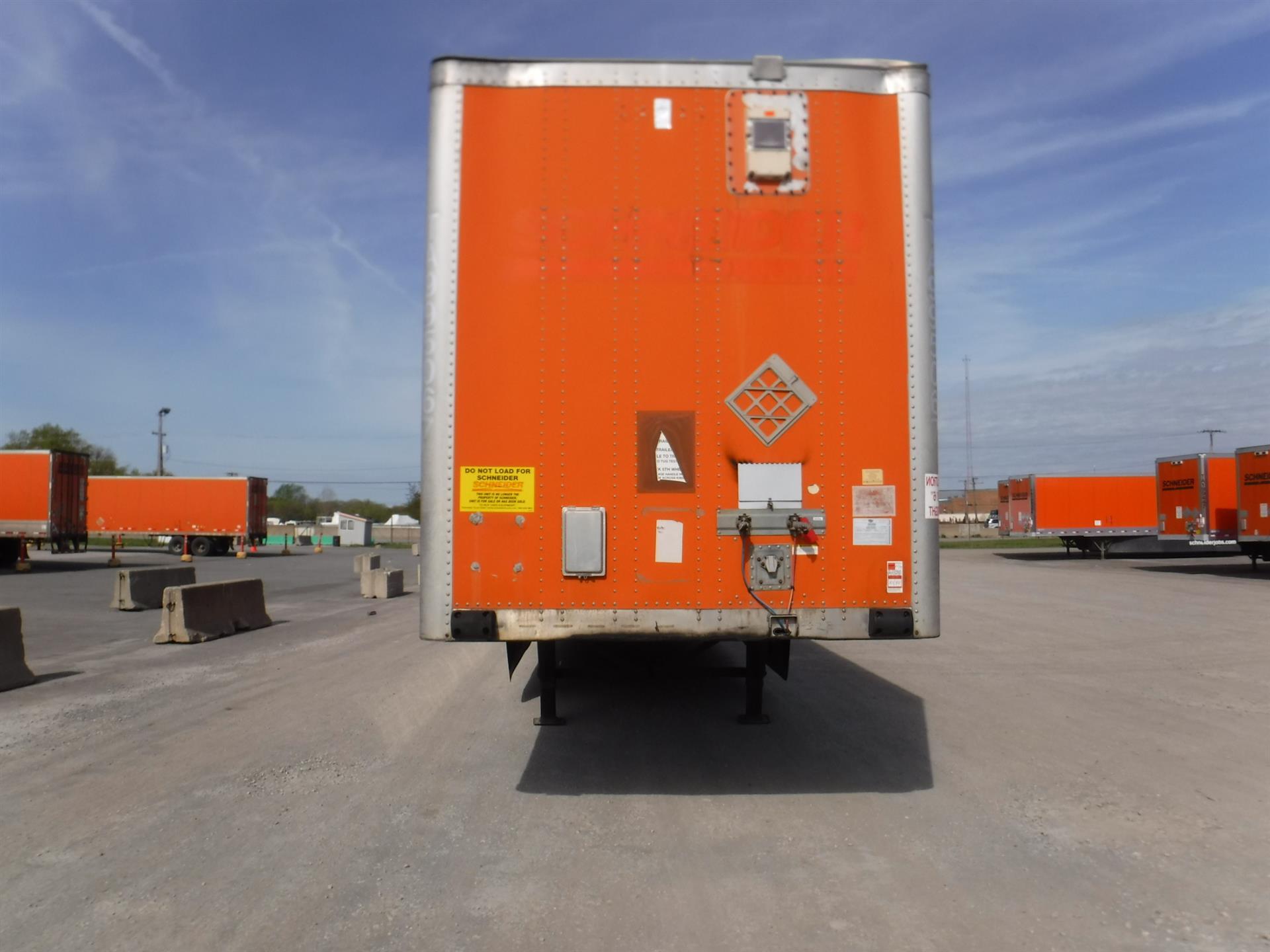 2009 Wabash Van for sale-59212533
