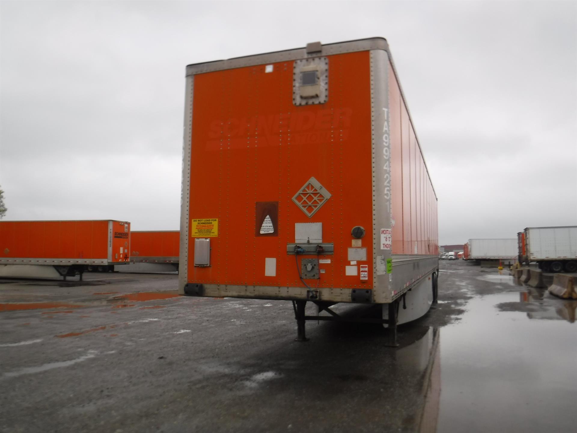 2009 Wabash Van for sale-59218508