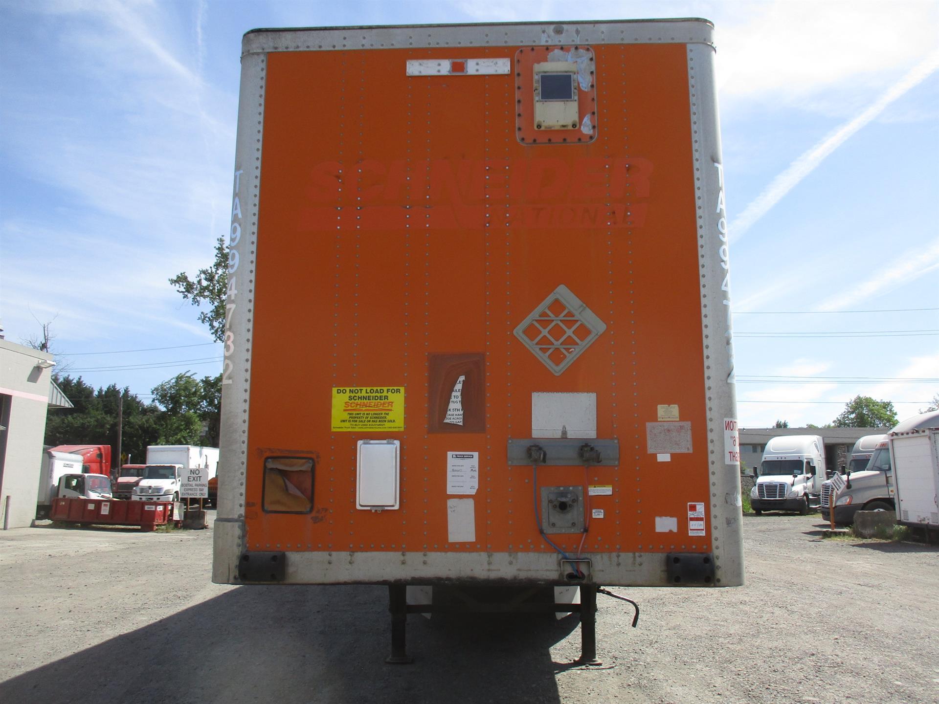 2009 Wabash Van for sale-59226750