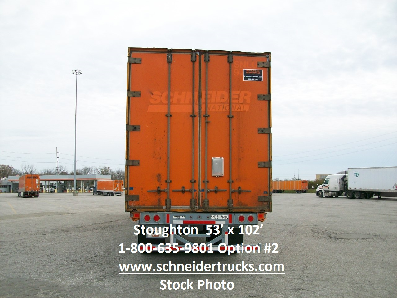 2007 Stoughton CONTAINER for sale-59219323
