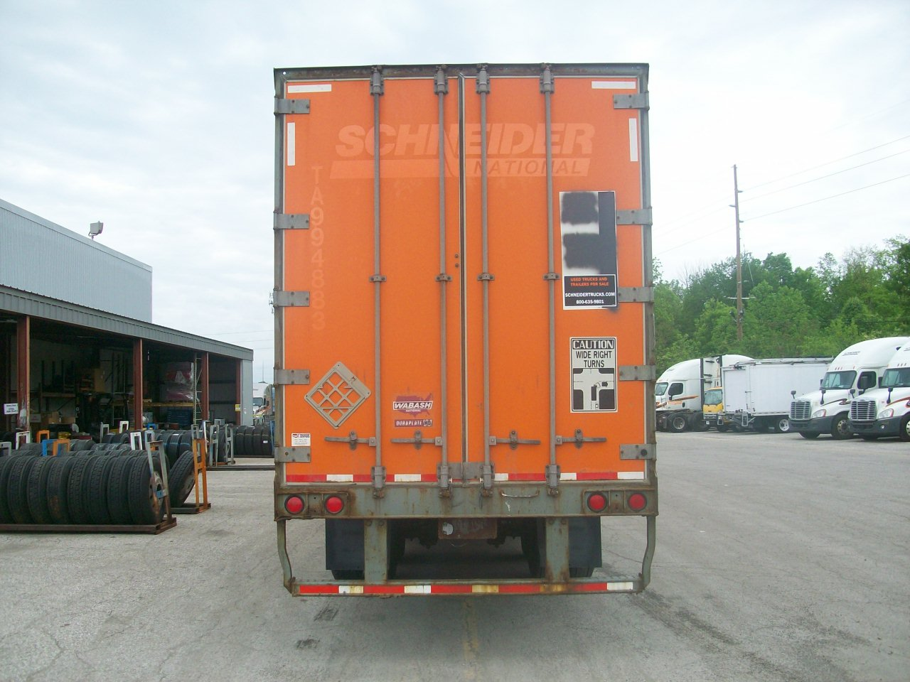 2009 Wabash Van for sale-59220205