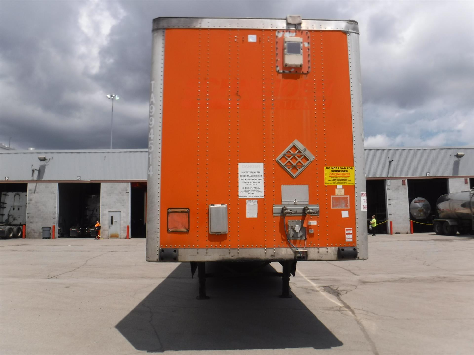 2009 Wabash Van for sale-59232994