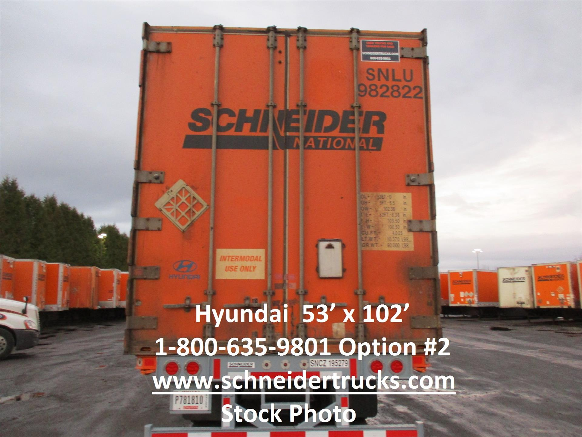 2006 Hyundai Container for sale-59233007