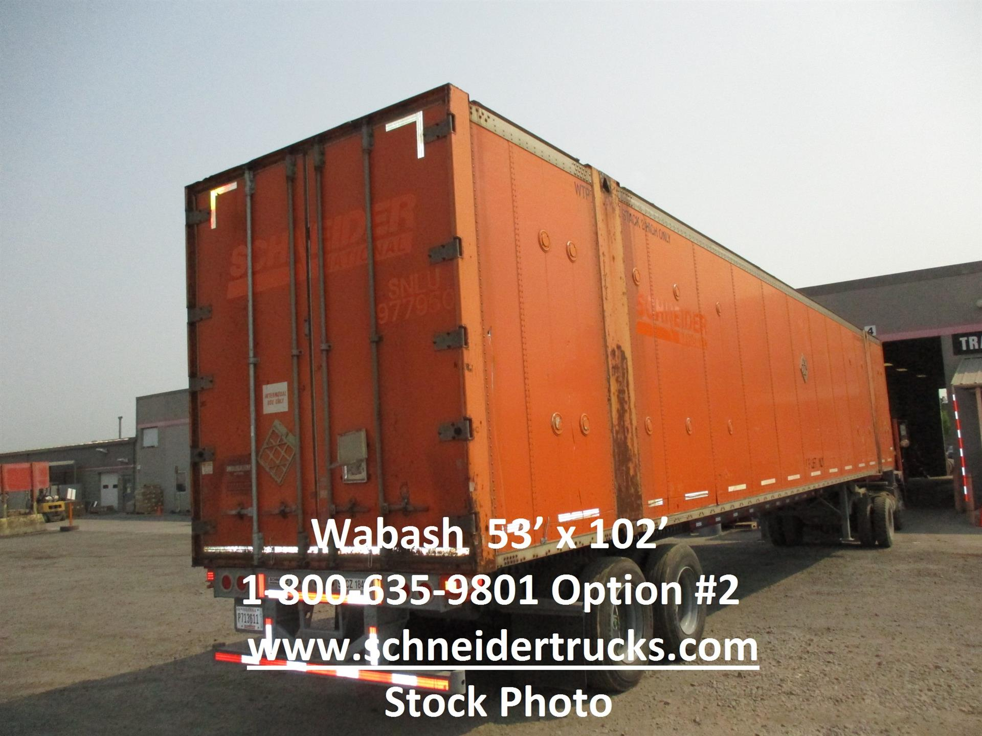 2006 Wabash CONTAINER for sale-59233228
