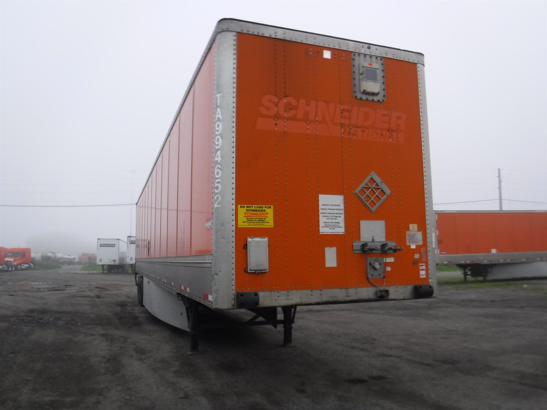 2009 Wabash VAN for sale-59265992