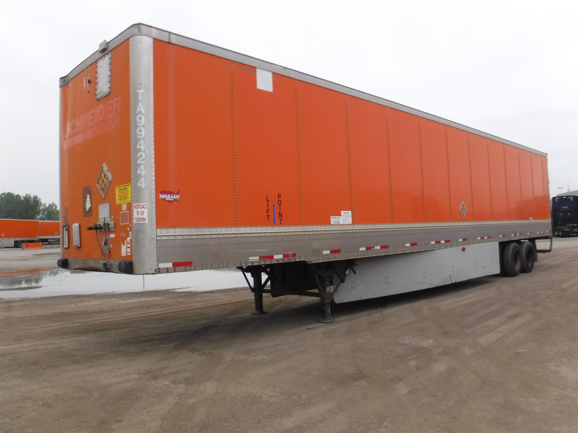 2009 Wabash Van for sale-59233453