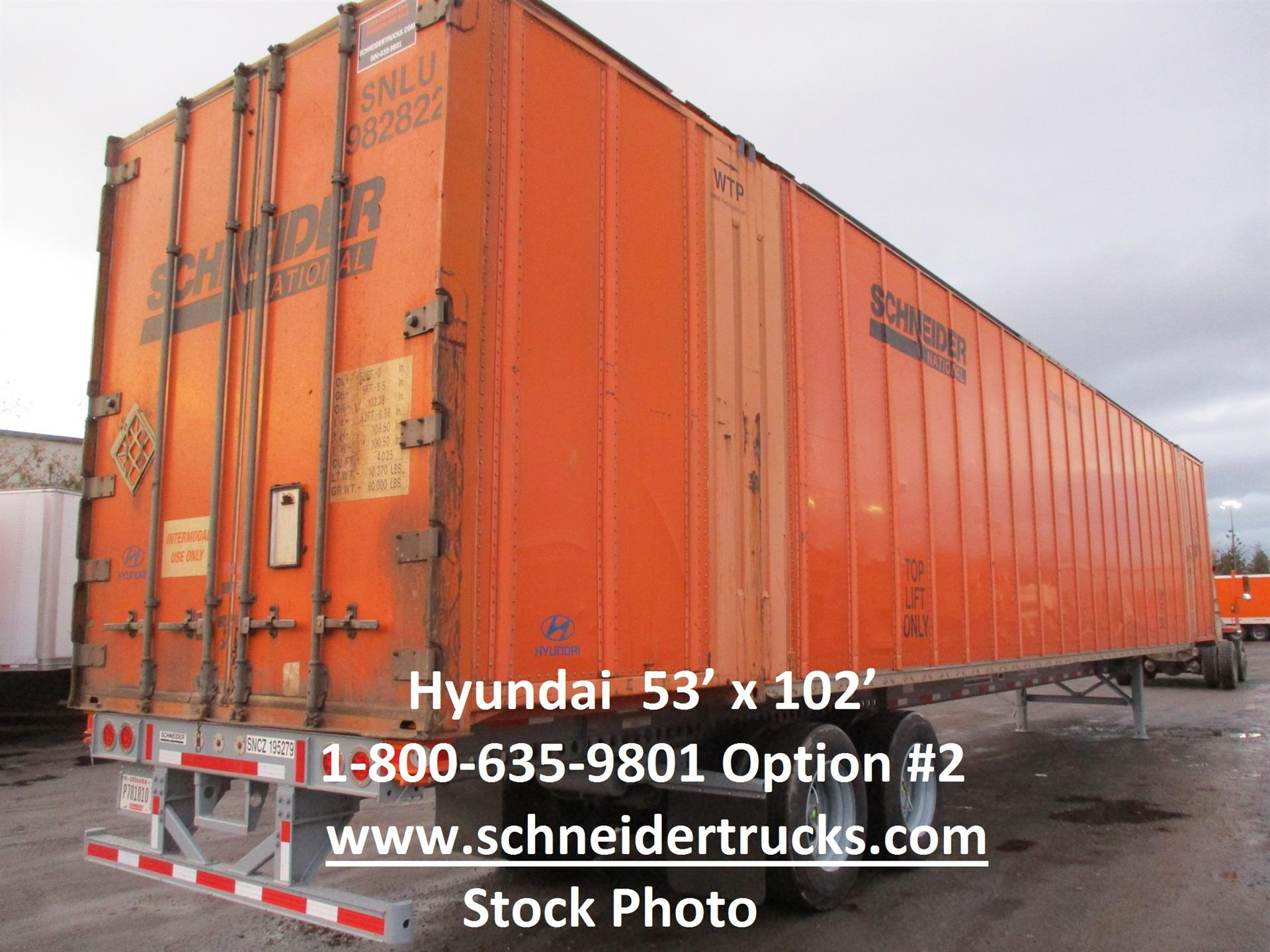 2006 Hyundai Container for sale-59258100