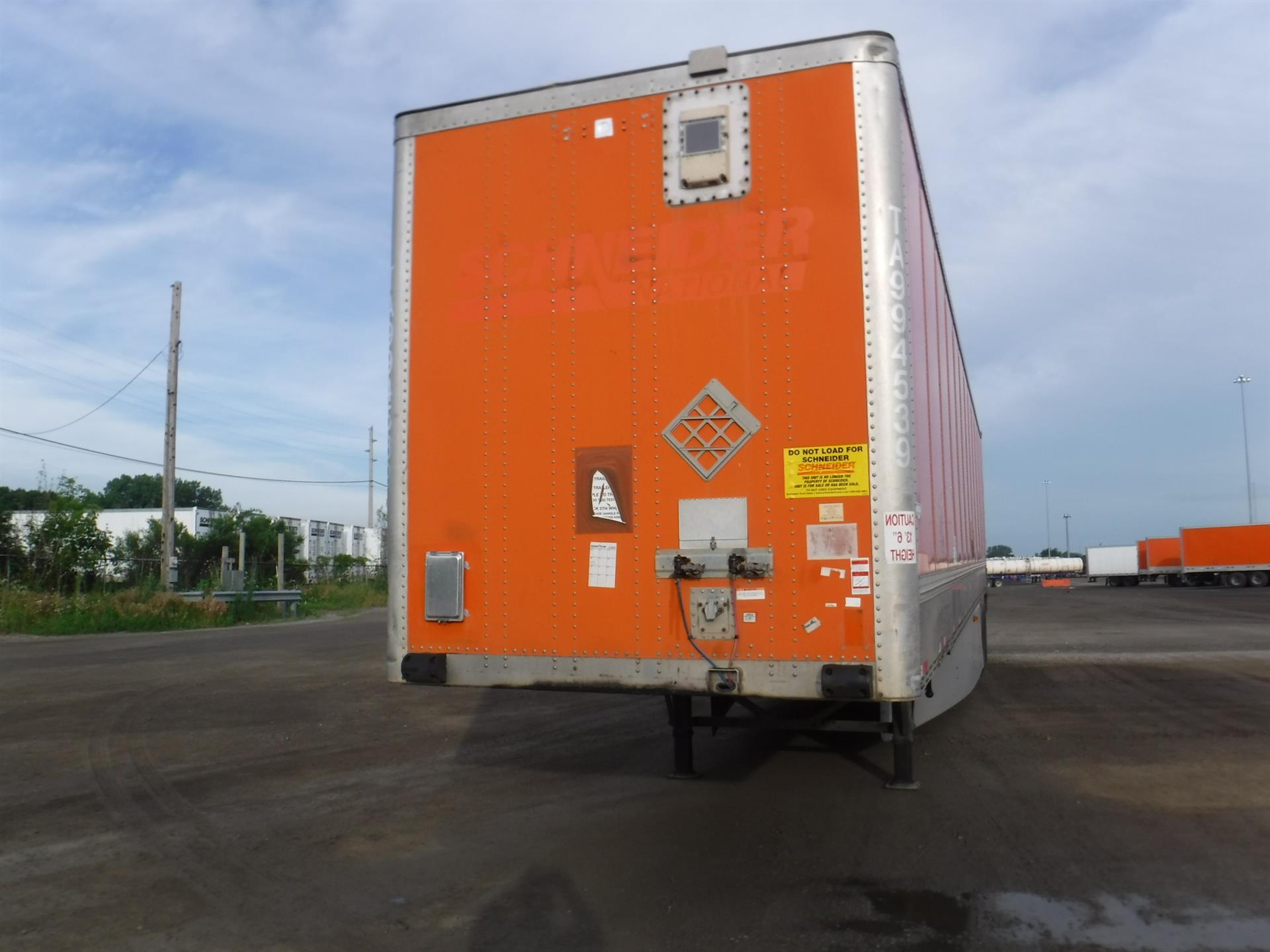 2009 Wabash VAN for sale-59290209