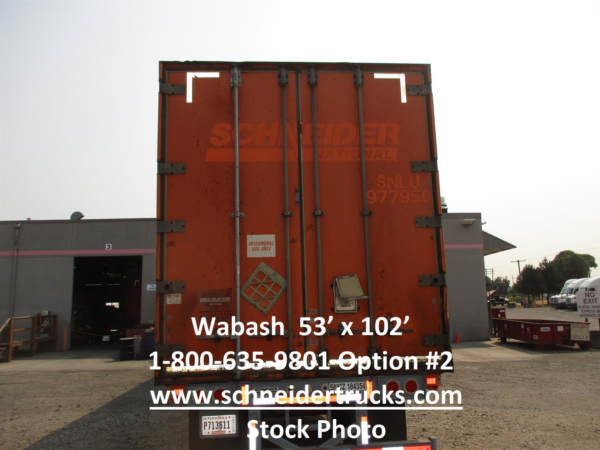 2005 Wabash CONTAINER for sale-59268816