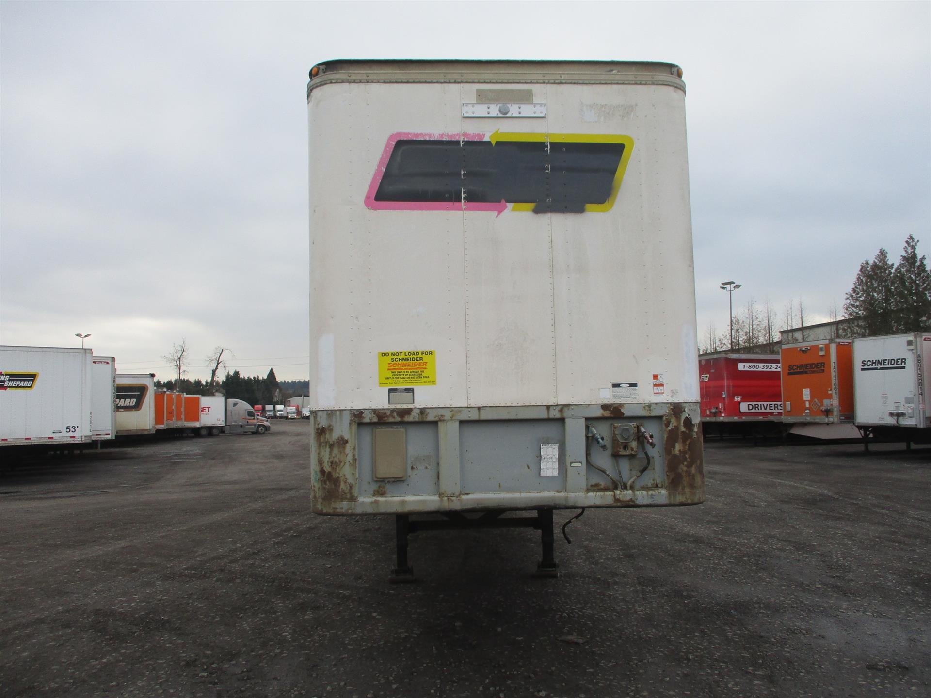 1984 Fruehauf Van for sale-59276694