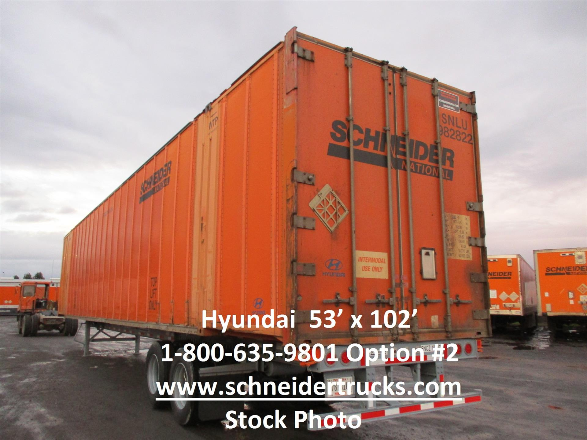 2006 Hyundai Container for sale-59283284