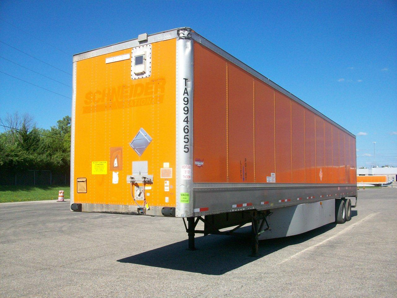 2009 Wabash Van for sale-59290238