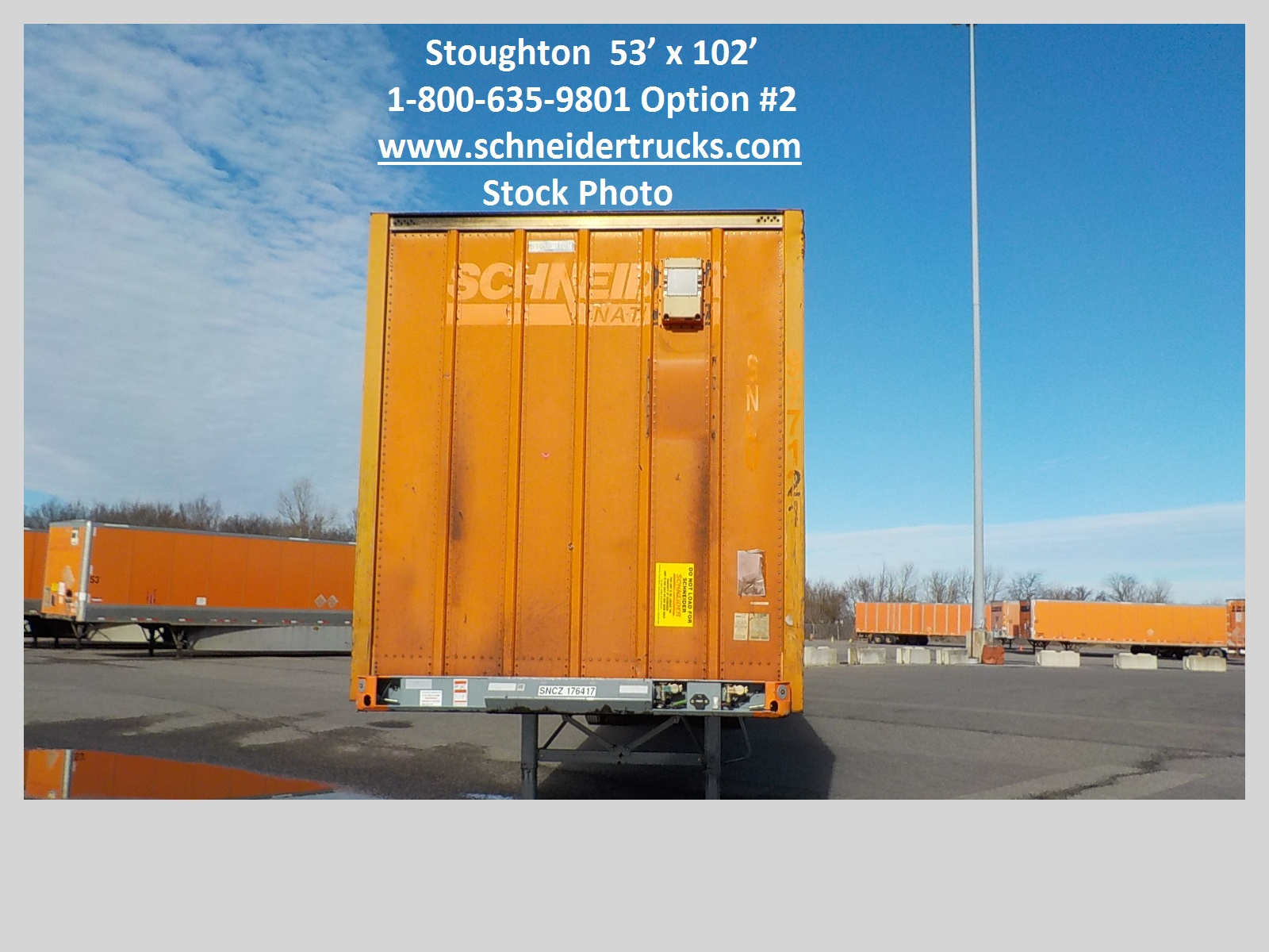 2007 Stoughton CONTAINER for sale-59283600