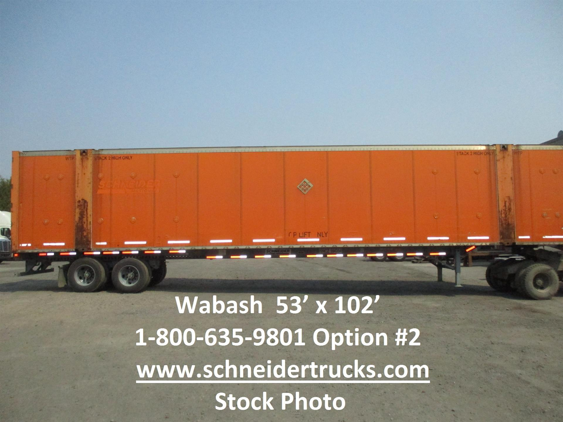 2006 Wabash CONTAINER for sale-59289350