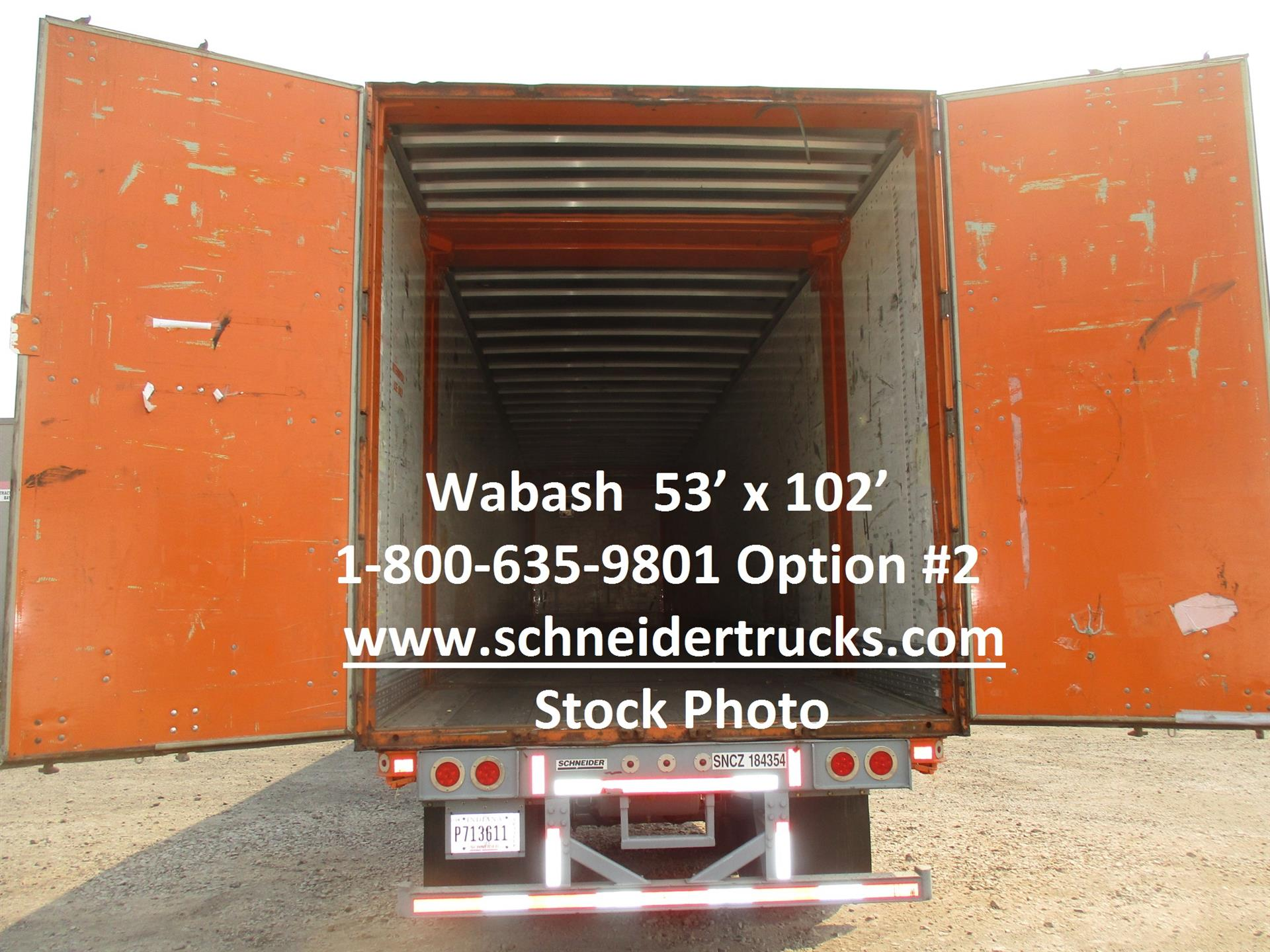 2006 Wabash CONTAINER for sale-59292450