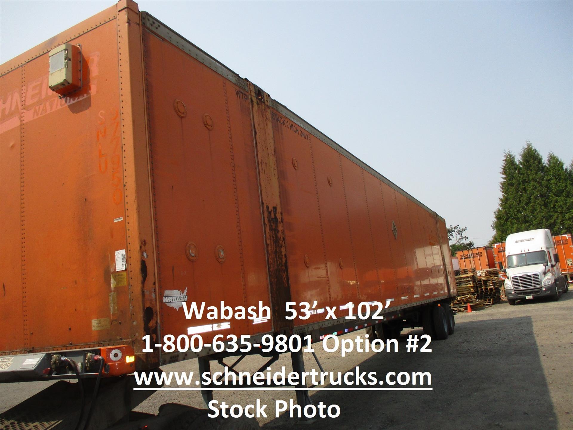 2005 Wabash container