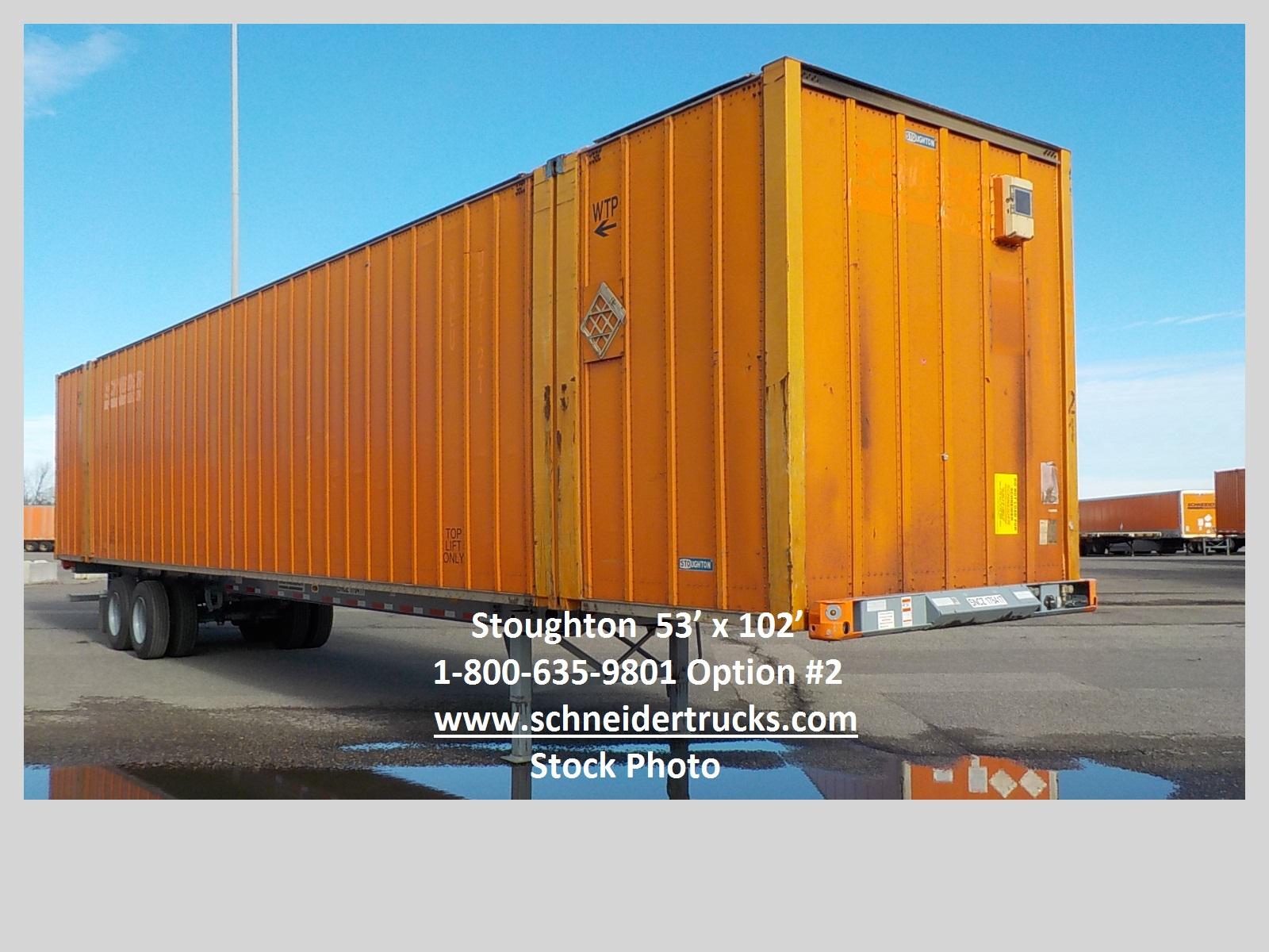2007 Stoughton container