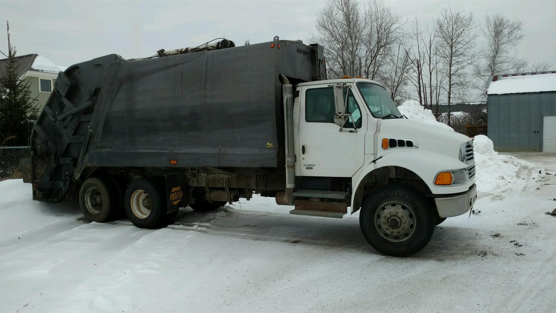 2005 Sterling Acterra Garbage Truck
