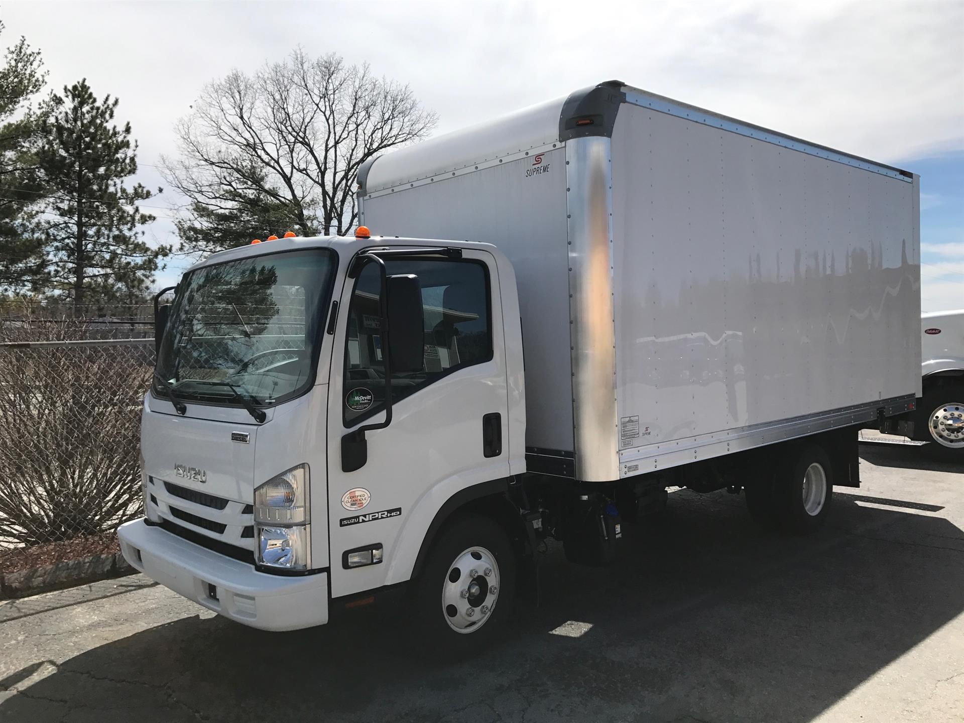 2017 Isuzu NPR HD Box Van Truck