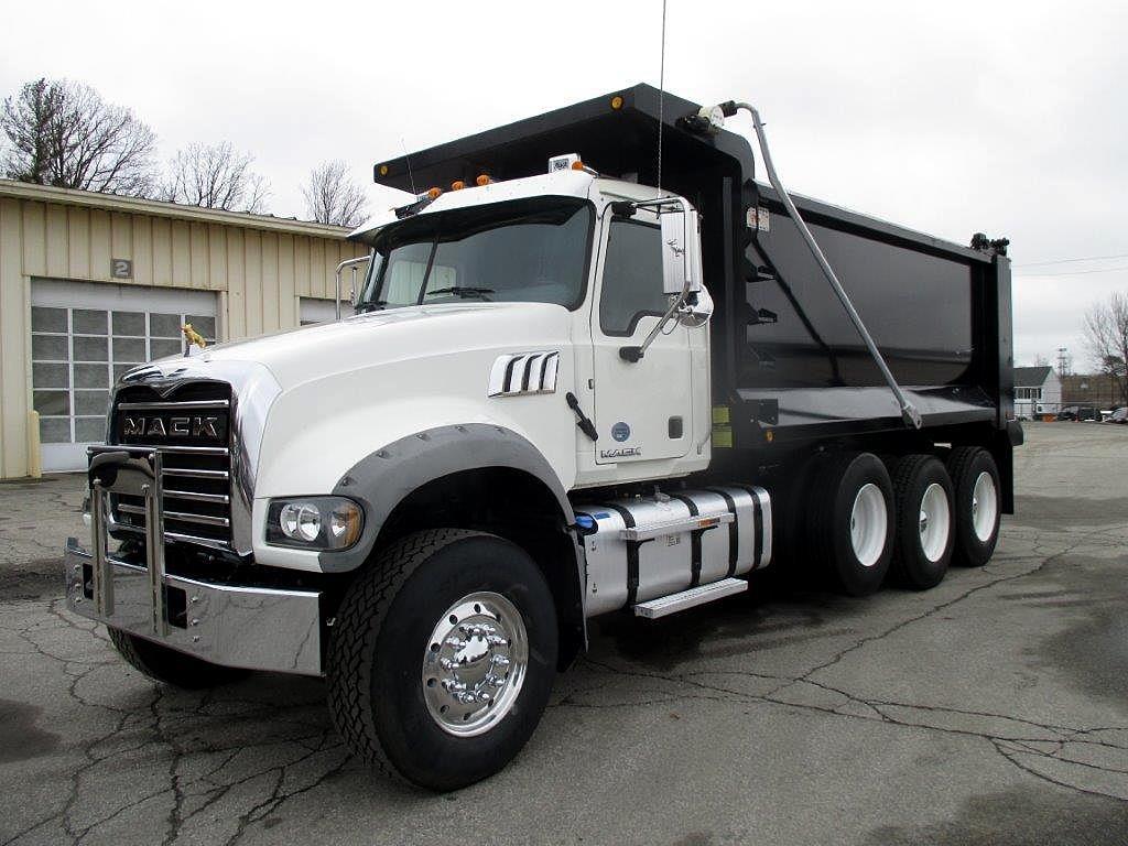 2017 Mack GU713 Dump Truck