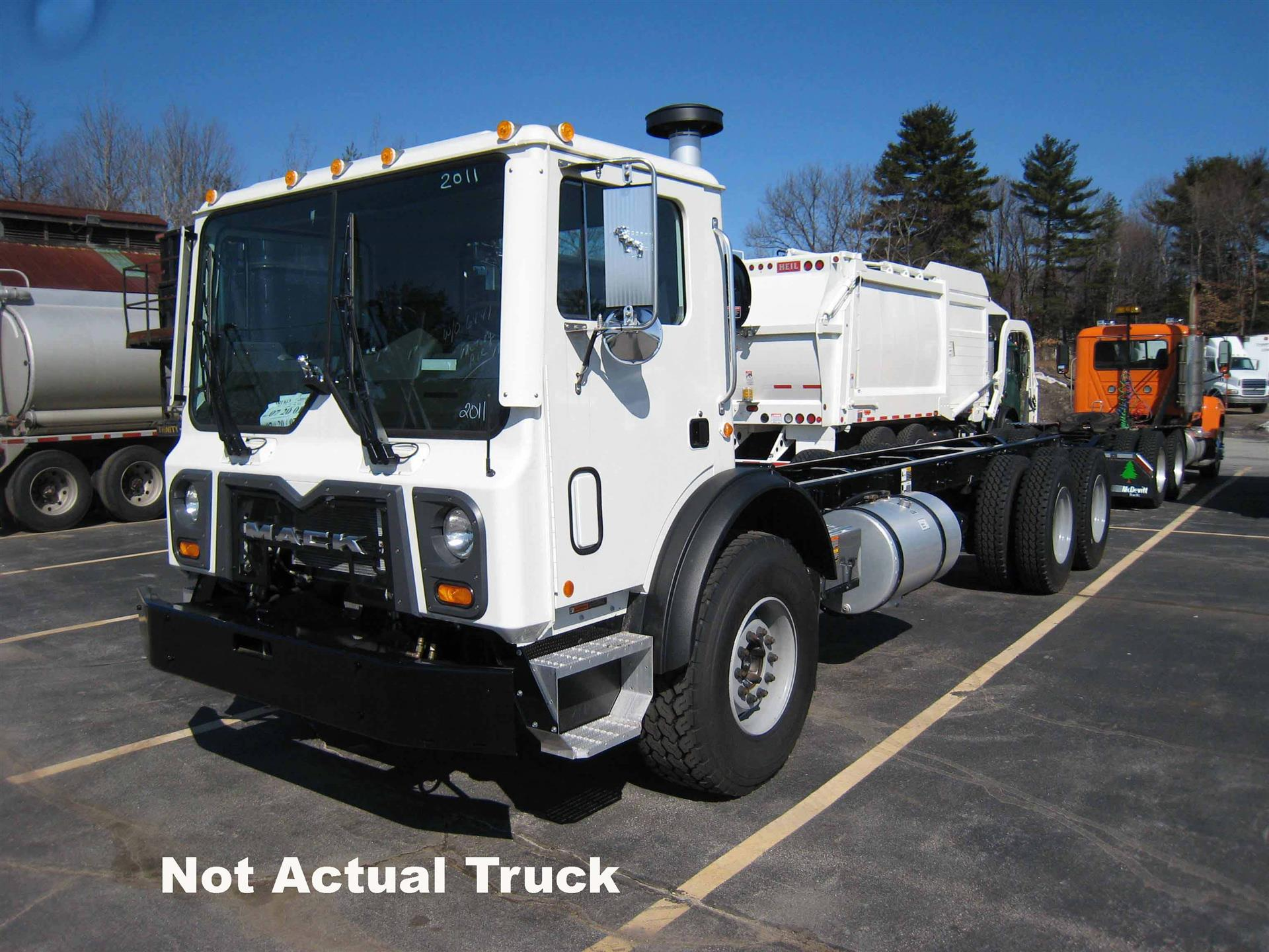 Mack med heavy trucks for sale 2018 mack mru613 cab chassis truck fandeluxe Choice Image